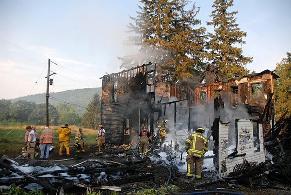 Pożar w Canisteo